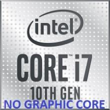 מעבד אינטל Intel Core i7 10700F 2.9/4.8Ghz 16MB Cache s1200 - Tray- ללא ליבה גרפית